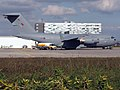 Royal Air Force UK C-17 Globemaster III on a refuelling stop - panoramio.jpg