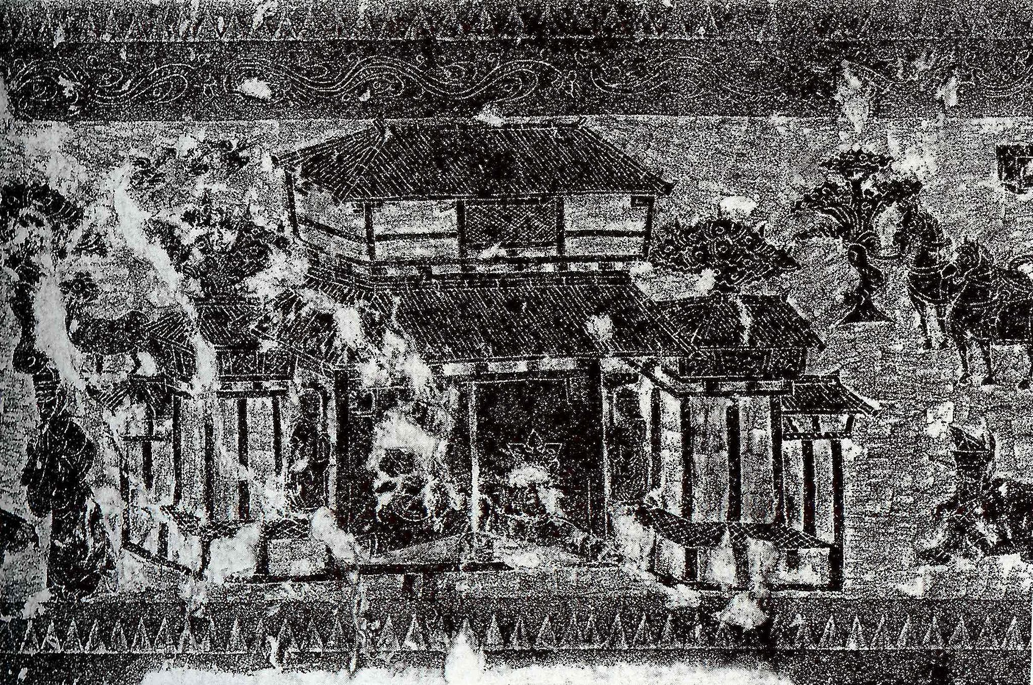 Rubbing of a Han Citang