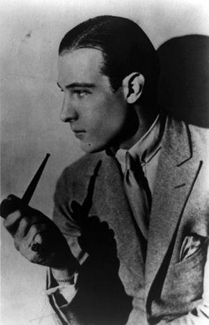 Falcon Lair - Rudolf Valentino, Falcon Lair's original owner