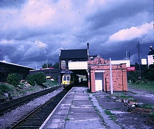 Rugby Central railway station - Image: Rugby Central 1968
