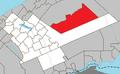 Ruisseau-des-Mineurs Quebec location diagram.png