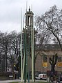 Rush sculpture, Windrush Square, Brixton in March 2011 01.jpg