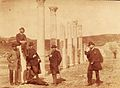 Russian architects in the Pompeii, 1880s.jpg