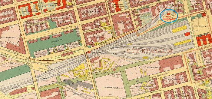 medborgarplatsen stockholm karta Södra stationsområdet – Wikipedia medborgarplatsen stockholm karta