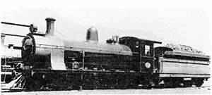 South African Class 7E 4-8-0 - New Cape Central Railway no. 4 South African Railways no. 1347