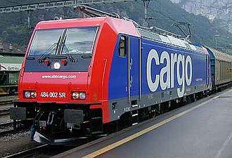 SBB Cargo - Image: SBB Re 484