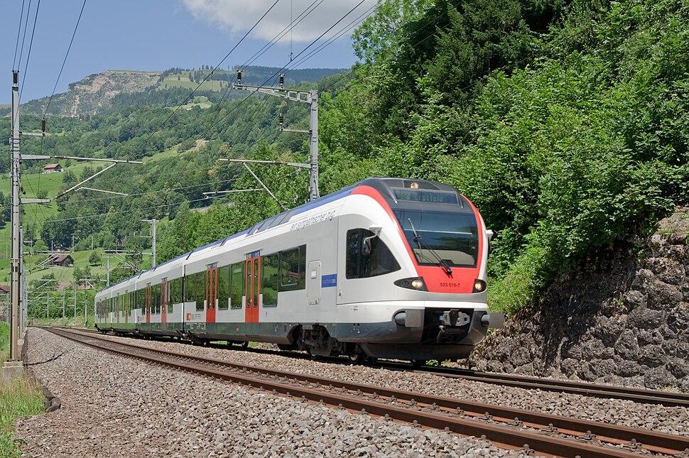 SBB RABe 523 FLIRT der Zuger S-Bahn
