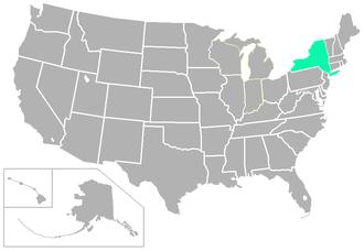 Skyline Conference - Image: SL USA states
