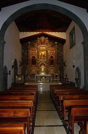 Peter of Saint Joseph de Betancur - Image: SP teneriffa vilaflor kloster altar