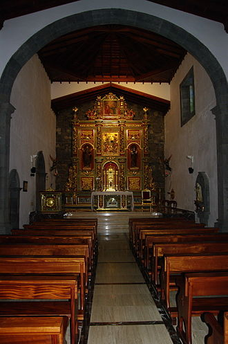 Peter of Saint Joseph de Betancur - Interior of Sanctuary of the Santo Hermano Pedro in Vilaflor, Tenerife.