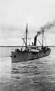 SS <i>Ferret</i> Early 20th century Scottish steamship