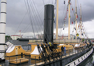 SS Great Britain - The main funnel