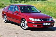 Saab 9-5 I przed face liftingiem