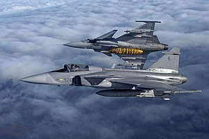 Saab JAS-39 Gripen (Czech Air Force) (6417853785).jpg