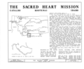 Sacred Heart Mission, Interstate 90 and Interchange 39, Cataldo, Shoshone County, ID HABS ID,28-CATAL.V,1- (sheet 1 of 10).png