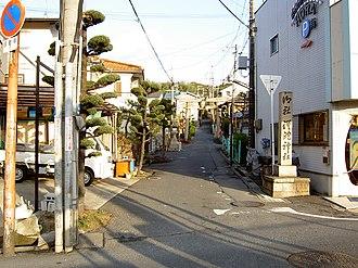 Sandō - Image: Sada shrine Sandou