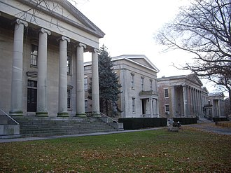 Marry the Night - A portion of the video was shot at the Snug Harbor Cultural Center.