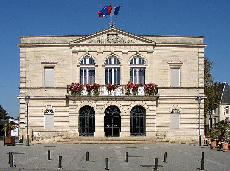 L'hôtel de ville de Saint-Dizier.