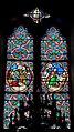 Saint-Georges-de-Reintembault (35) Église Saint-Georges - Intérieur - Vitrail - 08.jpg