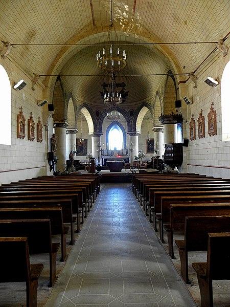 Église Saint-Jean-Baptiste de Saint-Jean-sur-Mayenne (53).