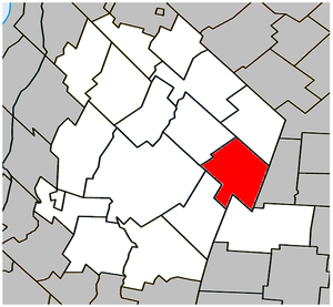 Saint-Liboire, Quebec - Image: Saint Liboire Quebec location diagram