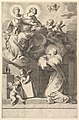 Saint Bernard Kneeling before the Virgin and Child MET DP822414.jpg