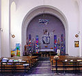 Saint Francis of Assisi Cathedral, (interior) El Aaiun, Western Sahara 10.jpg
