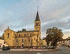 Saint Maurice church of Le Donjon 01.jpg