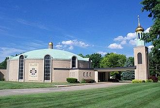 Coventry Township, Summit County, Ohio - Saint Nicholas Byzantine Catholic Church on Robinson Avenue