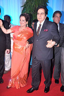 Saira Banu, Dilip Kumar at Esha Deol's wedding reception 01.jpg