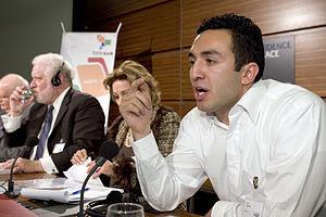 Salim Lamrani à la conférence Axis for Peace, 17 novembre 2005