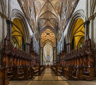 Salisbury Cathedral Choir, Wiltshire, UK - Diliff