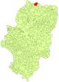 Sallent de Gállego en el mapa de Alto Gállego.PNG