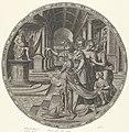 Salomo's afgoderij Zes beroemde vrouwen uit het Oude Testament (serietitel), RP-P-OB-102.504.jpg