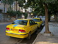 Samand Two taxi - parked - Nishapur.JPG