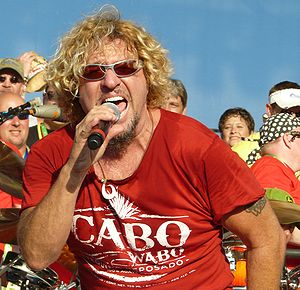 Sammy Hagar - Hagar live at the Moondance Jam on July 10, 2008