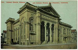 Calvary Presbyterian Church (San Francisco) - Image: San Francisco CA Calvary PHS912