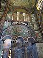 San vitale, ravenna, int., presbiterio, mosaici di sx 01.JPG