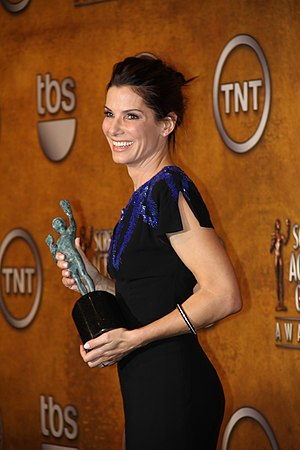 The Blind Side (film) - Sandra Bullock in 2010 after receiving the SAG award for Outstanding Performance by a Female Actor in a Leading Role