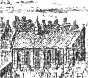 Royal Mint (Denmark) - St. Clare's Priory in 1611