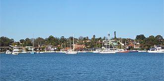 Sans Souci, New South Wales - Sans Souci, view across Kogarah Bay