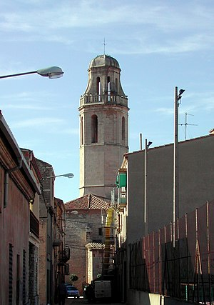 Sant Martí de Riucorb - St. Martin's church tower