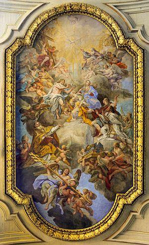 Santa Cecilia (Rome) - Ceiling