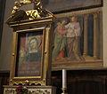 Santa maria del fiore, tribuna della santissima concezione, santi di Bicci di Lorenzo (1440) 04.JPG