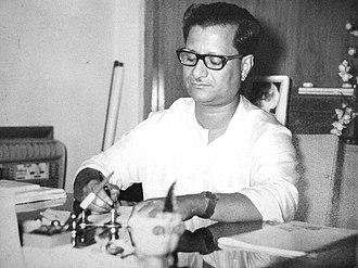 Santosh Kumar Ghosh - Photograph of Santosh Kumar Ghosh taken at ABP Office