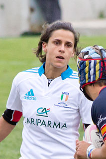 Sara Barattin Italian rugby union player
