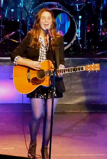 Two-time nominee Sara Bareilles Sara Bareilles at the Warfield.png