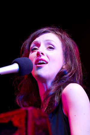 Sarah Slean - Slean performing at the 2012 Burlington's Sound of Music Festival