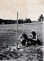 Sarawak; two Kenyah natives consulting a sundial. Photograph Wellcome V0037408.jpg