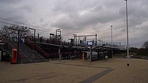 Sassenheim railway station - Image: Sassenheim station oostkant
